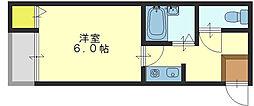 プラネット小阪[2階]の間取り