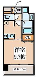 レオンコンフォート玉造[2階]の間取り