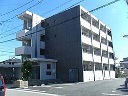 愛知県北名古屋市鹿田永塚の賃貸マンションの外観