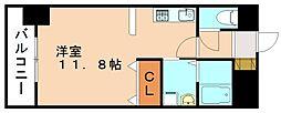 福岡県飯塚市宮町の賃貸マンションの間取り
