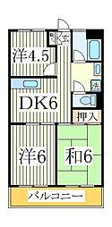 渋谷ビル[5階]の間取り