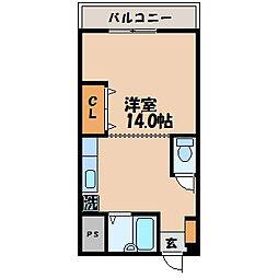 井関ビル[404号室]の間取り