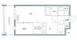 リアンレガーロ井尻ステーションII[1階]の間取り