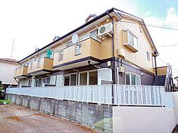 東京都東村山市廻田町1の賃貸アパートの外観