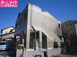 愛知県名古屋市緑区東神の倉2丁目の賃貸アパートの外観