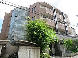 京都府京都市北区紫竹東栗栖町の賃貸マンションの外観