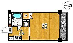 エクシード高木瀬[605号室]の間取り