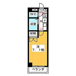 CS平田[1階]の間取り