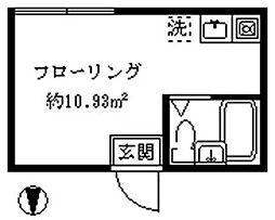 インペリアルノース[102号室]の間取り