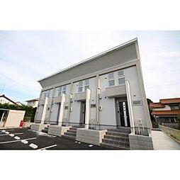 愛知県西尾市桜町3丁目の賃貸アパートの外観