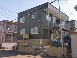 居鶴邸アパート[2号室]の外観