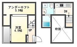 VIVA米野[1階]の間取り