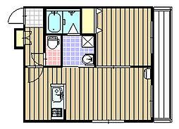 confort (コンフォート) 環状通東[2階]の間取り