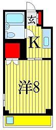サニーハイツ津田沼[3階]の間取り