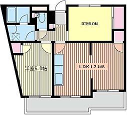 スダマンション[3階]の間取り