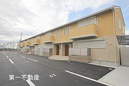 兵庫県加東市北野の賃貸アパートの外観