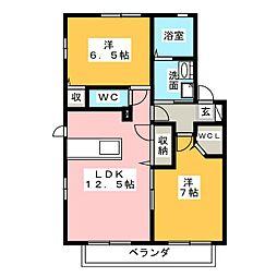 Ma Maison I[1階]の間取り