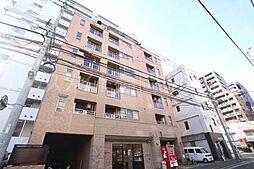 福岡県福岡市中央区薬院4の賃貸マンションの外観