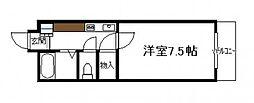 ベルトピア宮崎10[ 102号号室]の間取り