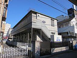 埼玉県川口市並木3丁目の賃貸アパートの外観