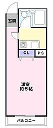 インペリアル[5階]の間取り