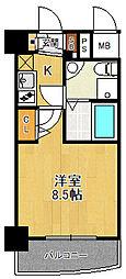 セレニテ甲子園2[4階]の間取り