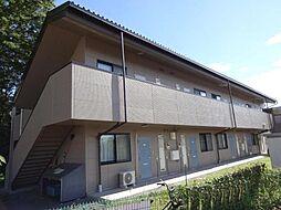 長野県東御市常田の賃貸アパートの外観