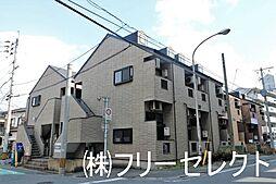 福岡県福岡市博多区博多駅南5の賃貸アパートの外観