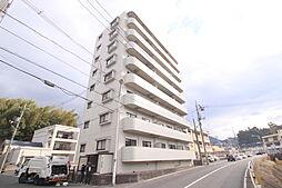 広島県広島市安佐北区落合5丁目の賃貸マンションの外観