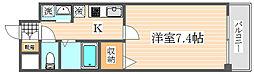 アイセレブ祇園[2階]の間取り