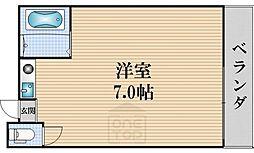 タウンコート桜川[601号室]の間取り