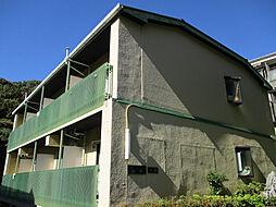 グリーンハイツ山水[3階]の外観