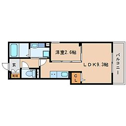 JR東海道本線 静岡駅 バス13分 南安倍町下車 徒歩3分の賃貸アパート 1階1LDKの間取り