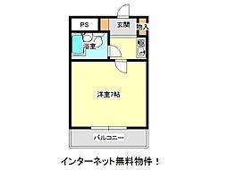 兵庫県神戸市西区北別府5丁目の賃貸マンションの間取り