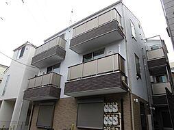 東京都江戸川区西小岩4の賃貸アパートの外観