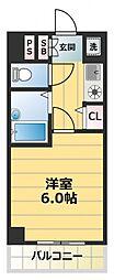 グランデージ新深江[2階]の間取り