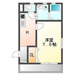 ラ・ルーチェ須磨本町[1階]の間取り