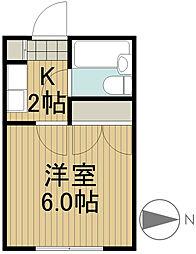 クリエイションハウス[2階]の間取り