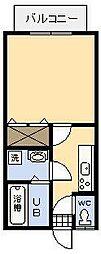 ジニアハイツ[103号室]の間取り