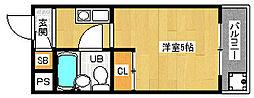 「メゾン・ド・パルファン」[4階]の間取り