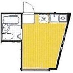 東京都中野区野方4丁目の賃貸アパートの間取り