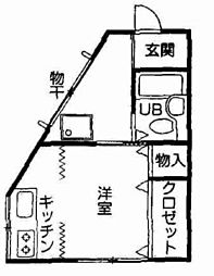 ひよどり住宅[2階]の間取り