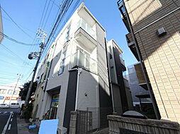 愛知県名古屋市中村区鳥居西通1丁目の賃貸アパートの外観