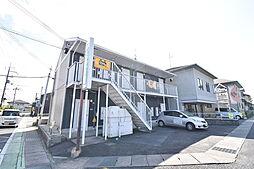 滋賀県草津市野村8丁目の賃貸アパートの外観
