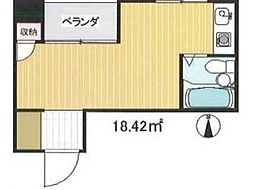 東京都三鷹市下連雀4丁目の賃貸マンションの間取り