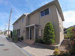 兵庫県宝塚市桜ガ丘の賃貸アパートの外観