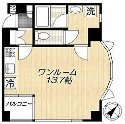 アイフィールド船堀[5階]の間取り