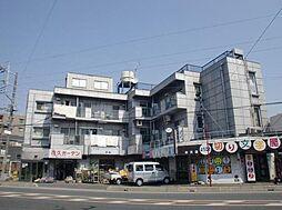 埼玉県草加市弁天6丁目の賃貸マンションの外観