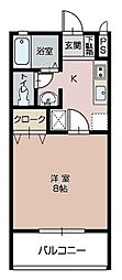パークミラコスタ[B103号室]の間取り