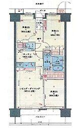 ブライトタウン磐田中泉II(703)[703号室]の間取り